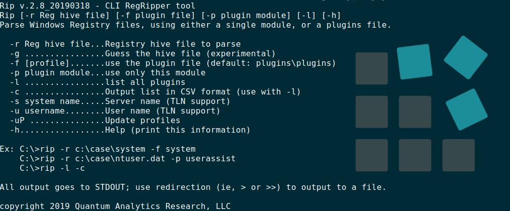 Análisis del Registro de Windows con RegRipper